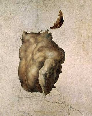 Théodore Géricault's Study of a Torso for The Raft of the Medusa