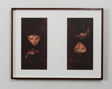 Breath, Photo Lithography, Oak Frame, Anti-reflective glass, 64.9cm x 50cm