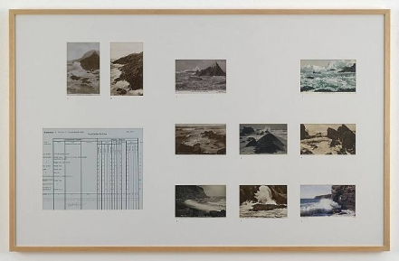 Susan Hiller, Addenda to Dedicated to the Unknown Artists: Addenda II, Section 6: A rock-bound coast 1977