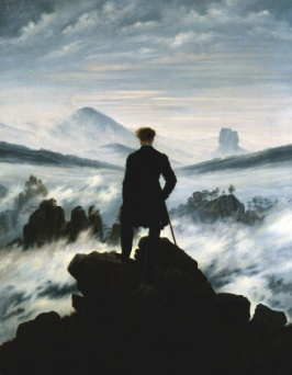 Caspar David Freidrich, The Wandered above a Sea of Fog, c.1818