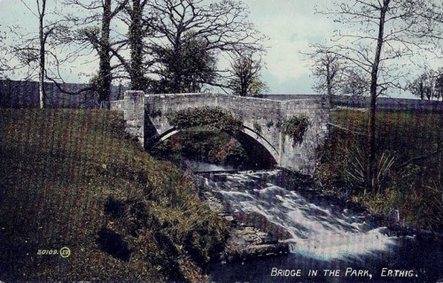 The Bridge in the Park, Erddig House & Gardens, Nr. Wrexham, Wales