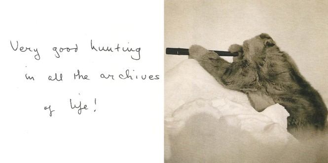 Left: Found Text in Samuel Butler Exhibition Catalogue 'Travelling the Way of All Flesh', Right: Robert Edwin Peary at the North pole by an unknown photographer.